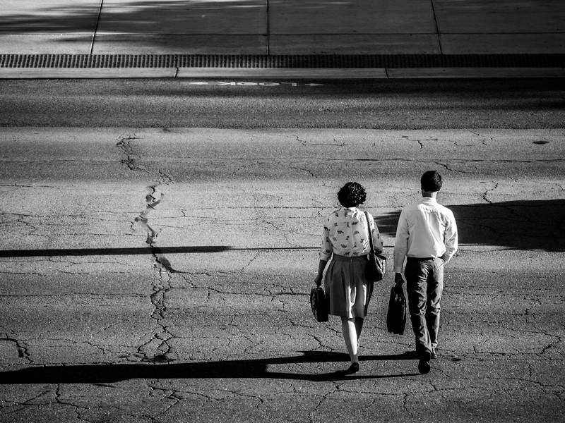 Couple Crossing