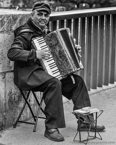 Parisian Accordionist