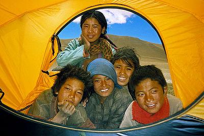Curious / Paiku Tso Region, Tsang, Tibet