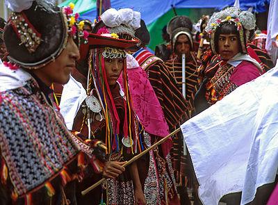 Tarabuco Dancers / Tarabuco, Bolivia