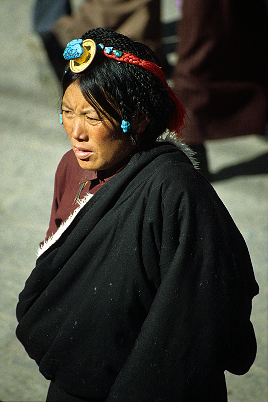 108 Braids / Lhasa, Ü,  Tibet