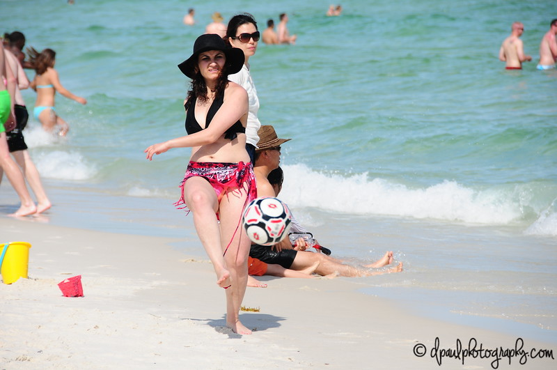 Beach Soccer.... :-) @ Pensacola Beach, Florida - USA