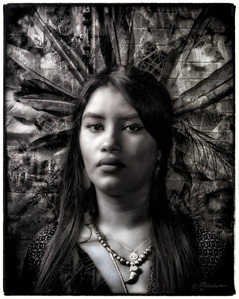 Modern Aztec Princess