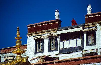 Ganden Rooftop  / Ganden Monastery, Ü,  Tibet