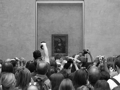 Mona Lisa: the trophy - Louvre, Paris, France - April 20, 2011