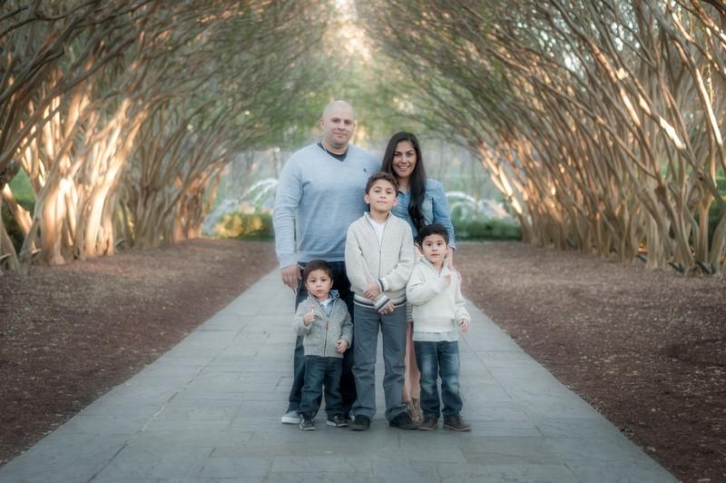 The Bazan Family