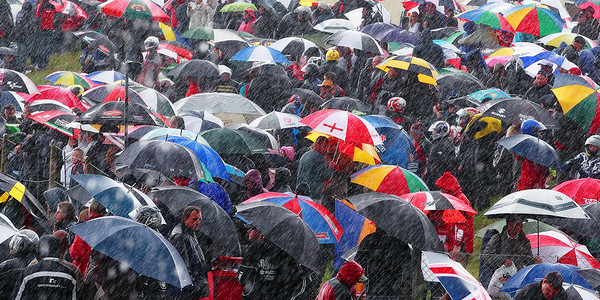 A Rainy Day at the Races