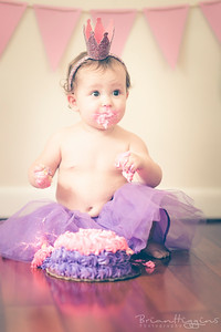 Baby & Birthday Cake