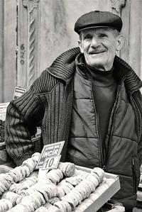 Fig Seller in the Spice Bizaar, Istanbul