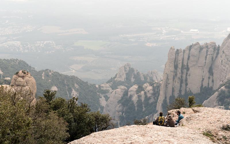 Sant Jeroni Trail, Montserrat, Province of Barcelona, Spain