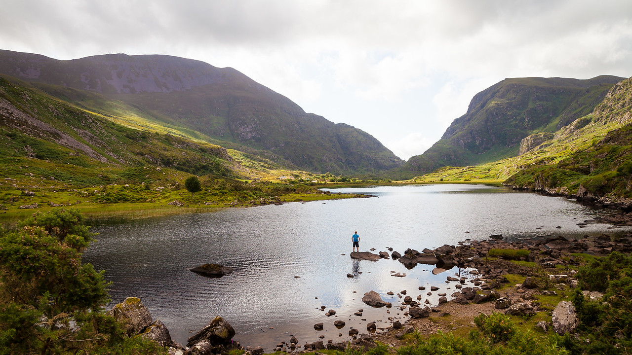 Gap of Dunloe, Killarney National Park, Co. Kerry, Ireland