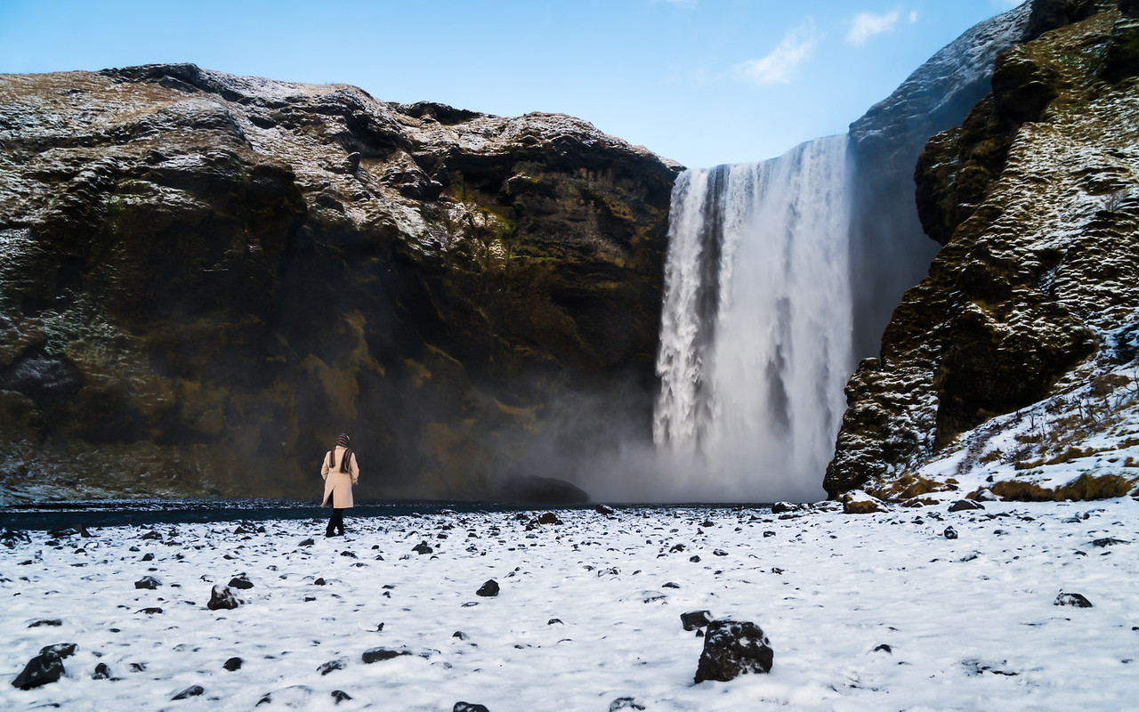 Skógafoss,Southern Region, Iceland
