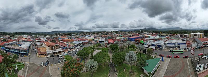 Aerial View of Perez Zeledon, San Isidro del General, Costa Rica