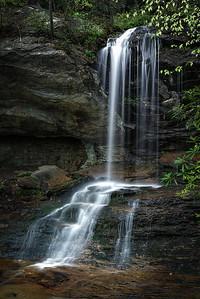Window Falls, Hanging Rock State Park, NC.