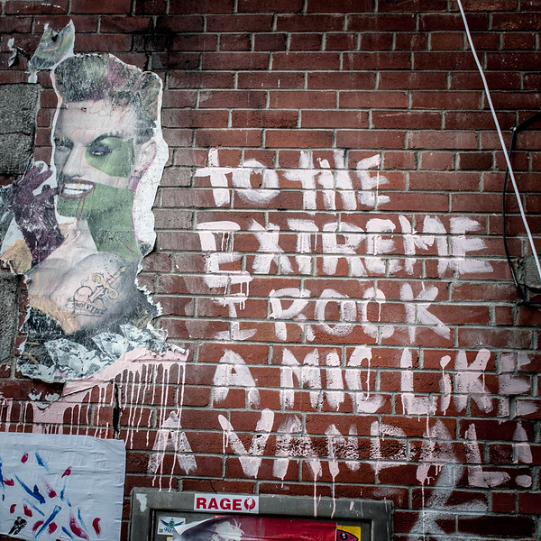 To The Extreme Graffiti Montreal Canada