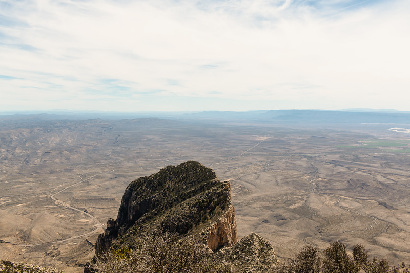 Peak Summit View Guadalupe Mountains National Park Texas 2