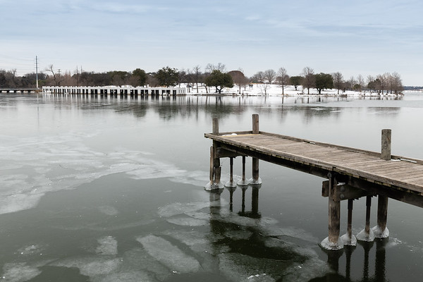 2021_02_17 White Rock Lake Pier and Boat Docks Winter Storm-2420