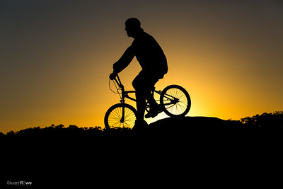 BMX at Sunset