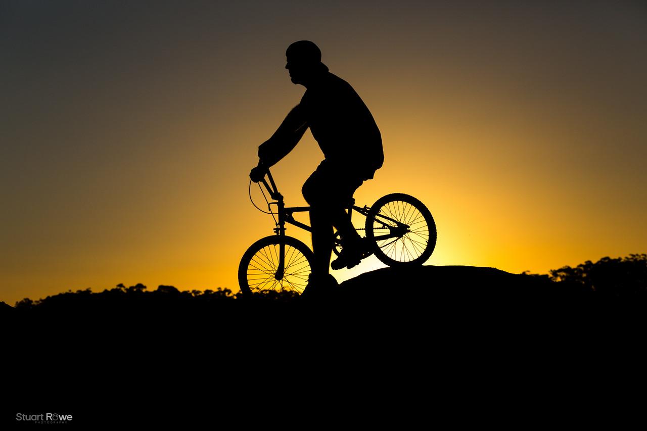 BMX at Sunset