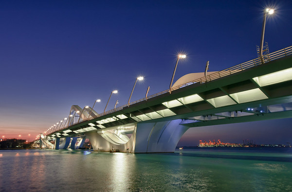 Sheik Zayed Bridge, Abu Dhabi