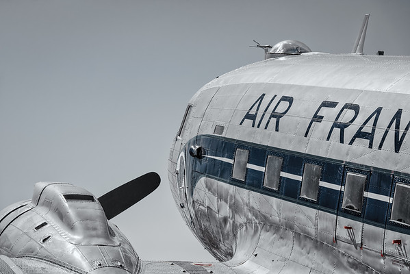 DC-3 in Air France colors