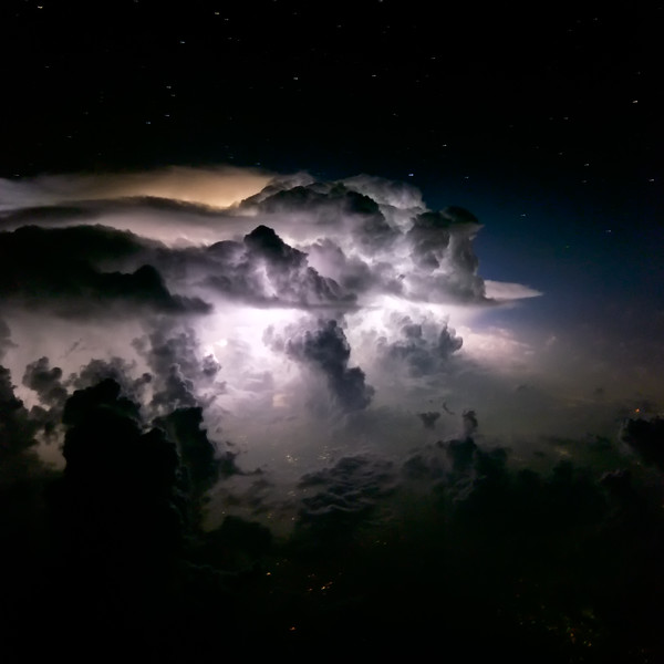 Thunderstorm over Northern Pakistan