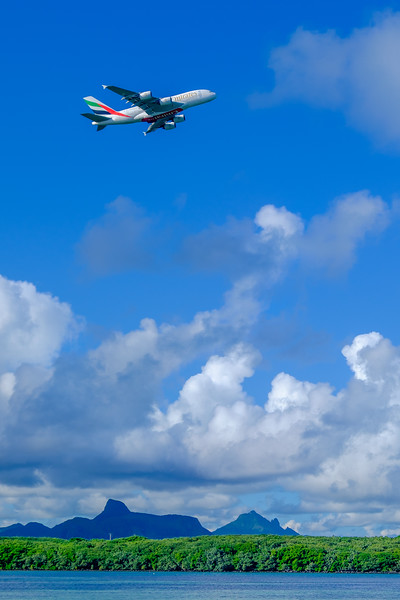 TAKE-OFF FROM MAURITIUS