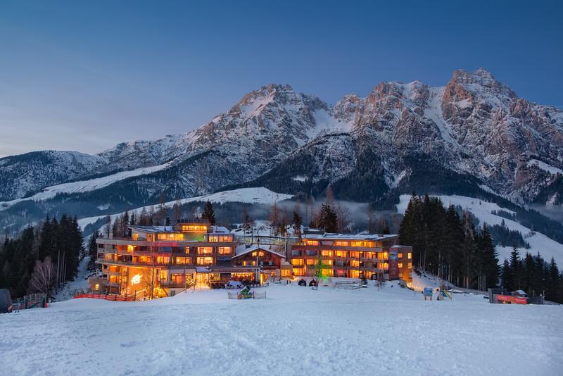 Blue hour in Tirol