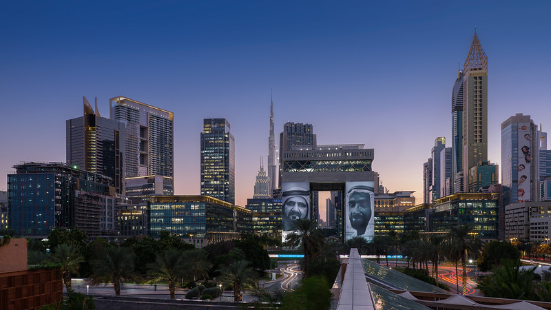 DIFC, 2018 Year of  the Sheik Zayed