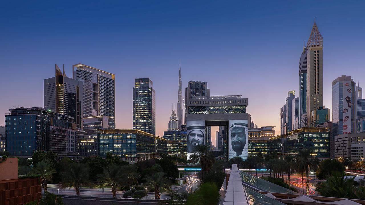 DIFC, 2018 Year of  the Sheik Zayed