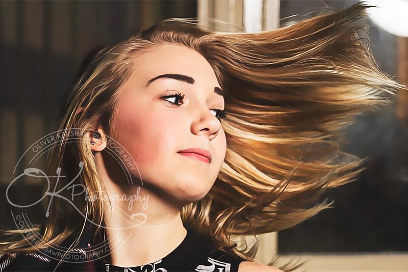 hair flick
