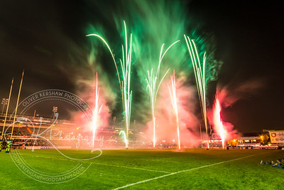 Fireworks Leicester Tigers