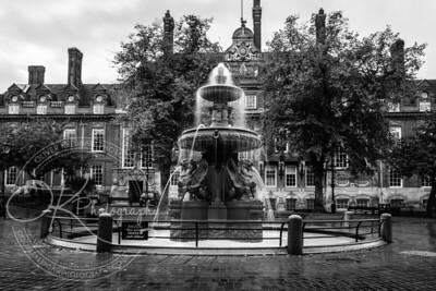 Leicester City Fountain