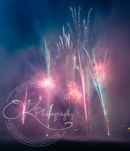 Leicester Tigers fireworks display