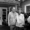 Stan and Christina Grof in front of the Big House, Esalen