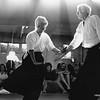 George Leonard demonstrating aikido