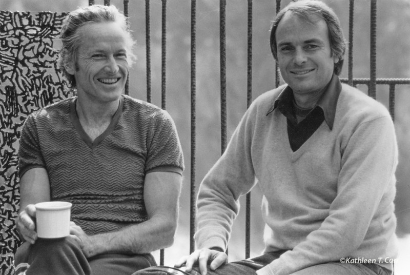 Dick Price and Michael Murphy, Founders of Esalen Institute