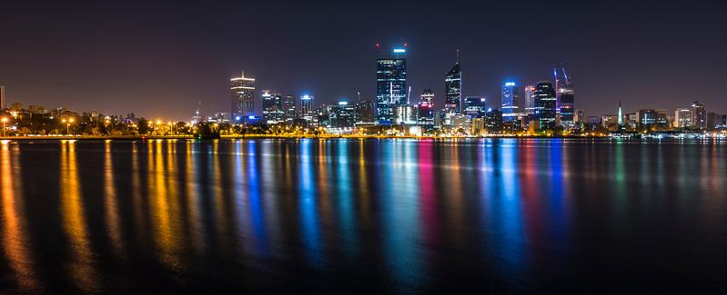 Perth, Swan River reflections