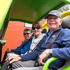 Steve, Liz and Julian ready to start the dune buggy ride!