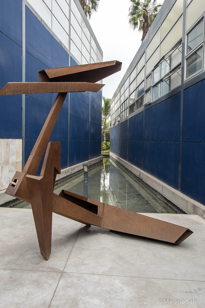 Sculpture at the Museum of Contemporary Art.