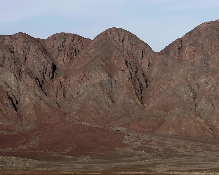 mountains surrounding the Nasca Desert Peru