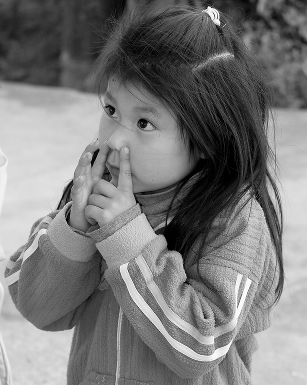 Sweet girl Peru