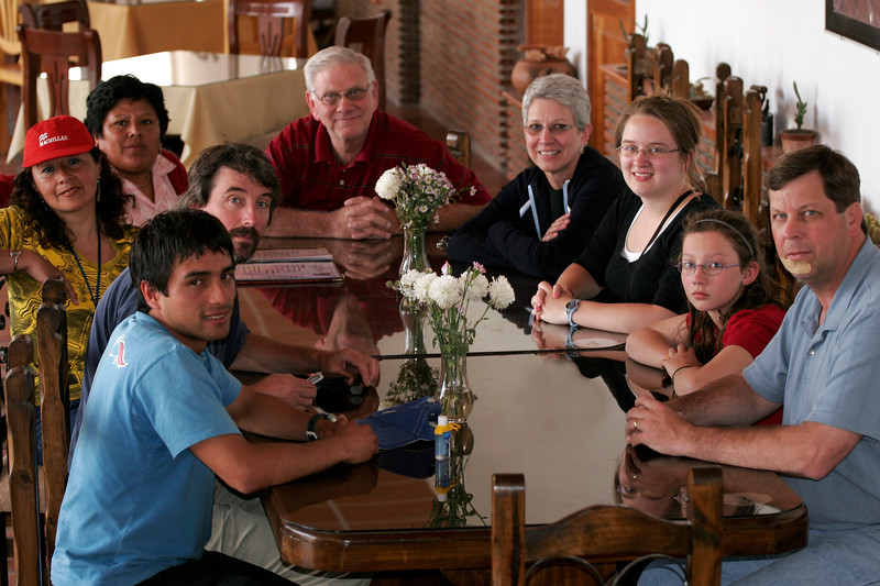 Our mission group in Nazca, Peru