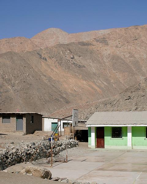 School in Huanca, Peru