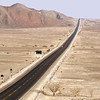 Pan-American Highway through the Nasca Desert Peru
