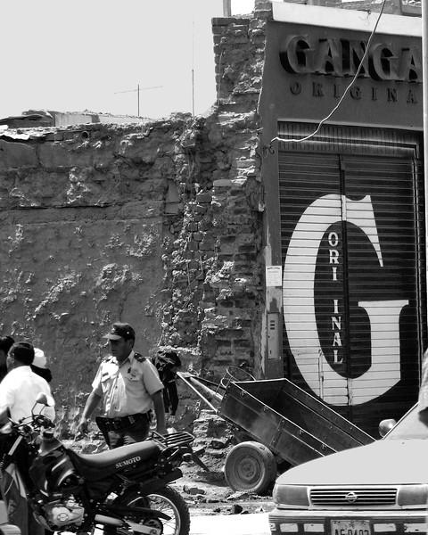 Ica Peru damage from 2007 earthquake