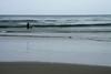 Cast-netting among the waves at the shoreline just north of Punta Malabrigo - La Libertad department.