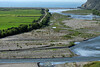 Across the Rio Ocona to the rice fields adjacent the Pacific Ocean - Camana province - Arequipa department.