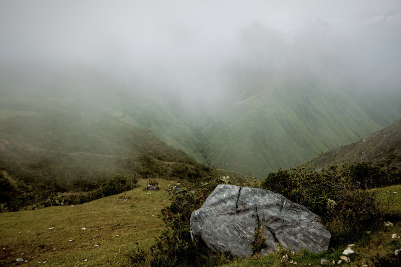 Fog In The Andes