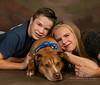 pet dog with kids